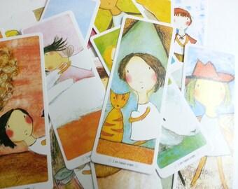 Sale Lovely Angel Bookmark Set - 30 Cards