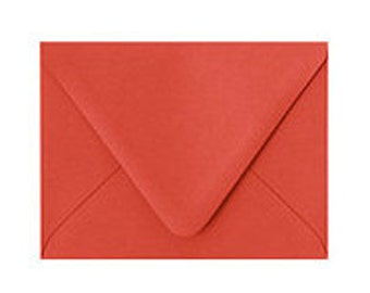A2 Strawberry Envelope- pack of 10