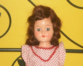 1950s Hard Plastic Doll
