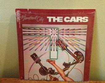 "The Cars ""Heartbeat City"" vinyl record"
