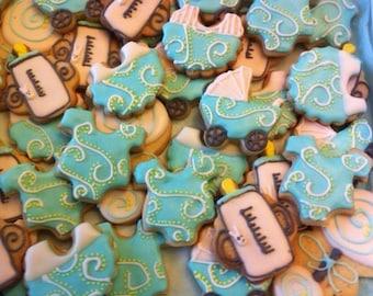 5 Dozen Mini Baby Shower Cookies