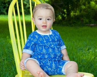 Gender neutral romper for size newborn to 5-6T