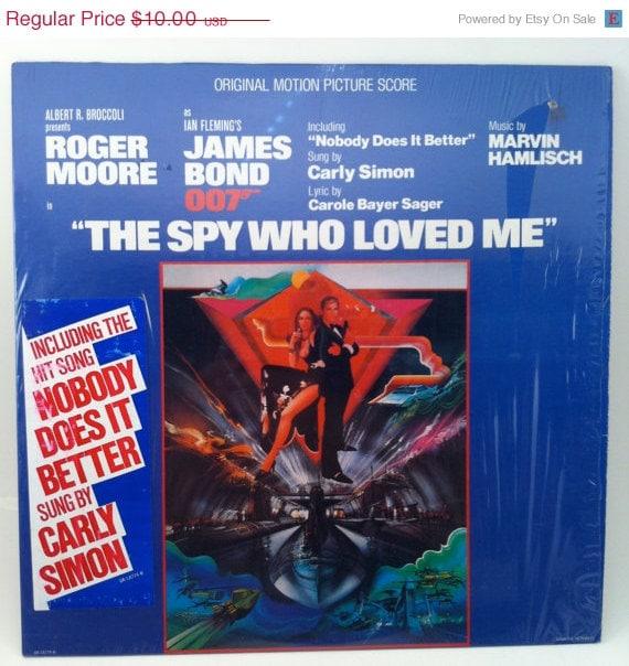 ON SALE James Bond 007 The Spy Who Loved Me by ...The Spy Who Loved Me Soundtrack Carly Simon