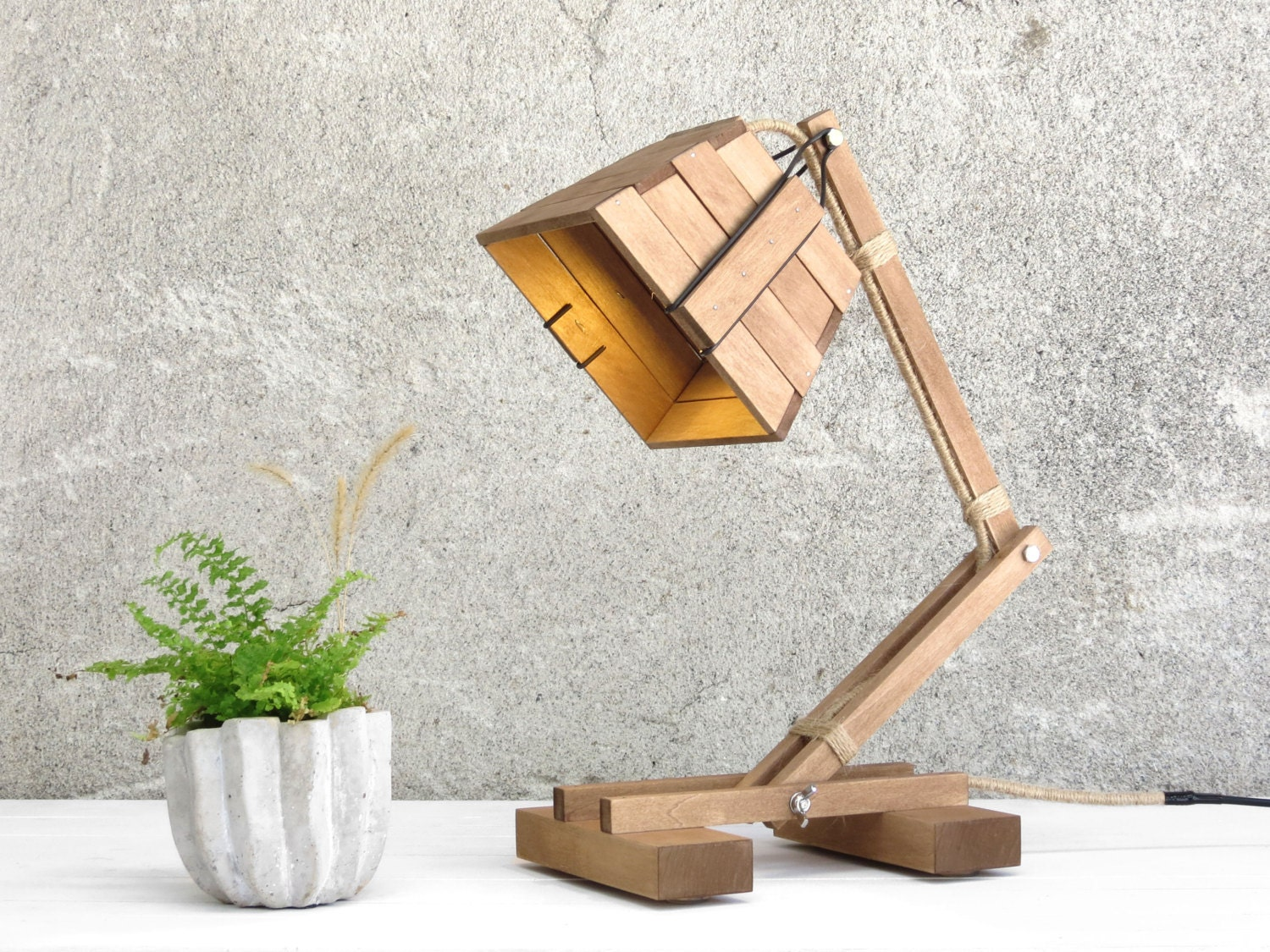 Tunto Powerkiss Lamp Made From Wood ·  Https://img0.etsystatic.com/064/0/7279722/ Images