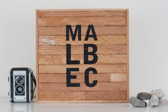 "12""x12"" ""Malbec"" Stark & Steel Series #253 || Modern Reclaimed Artworks"