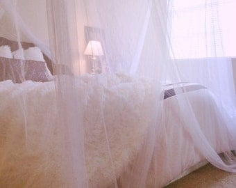 Net bed canopy