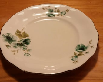On Sale Vintage China Made in Poland 7 inch Salad/Dessert Plate Replacement Dish FAVMOR Pattern