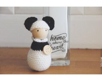 Bonhanimaux amigurumi panda crochet