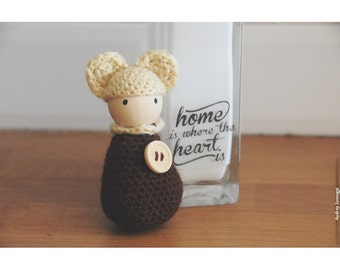 Bonhanimaux, bear amigurumi crochet
