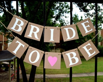 Wedding Banner Bridal Shower Decorations  Bride to be Banner -  Banners  - Bachelorette Party CUSTOMIZE YOUR COLORS