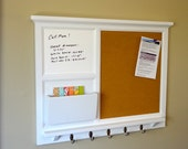 Custom White Board Mail Organizer Letter By Beachwoodkreations