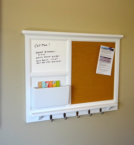 Items similar to 31 x 24 large cork board smaller for Cork board organizer