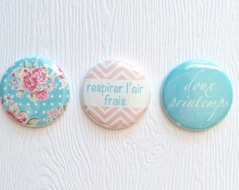 "3 badges 1 ""sweet spring"