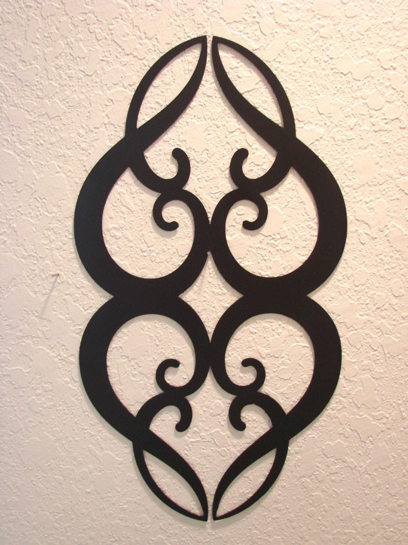 ornamental heart metal wall art. Black Bedroom Furniture Sets. Home Design Ideas