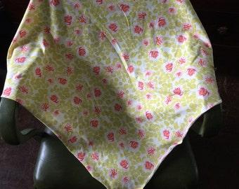 Rose swaddle blanket