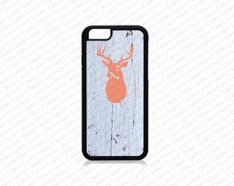 iPhone 6/6s Plus Case, iPhone 6/6s Case, iPhone 5s case, Iphone 5 Case,Deer head wood print iPhone SE Cover,iPhone SE Case, iPhone 5c Case