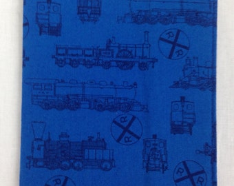 Blue Trains Passport Cover, Holder, Protector, Case
