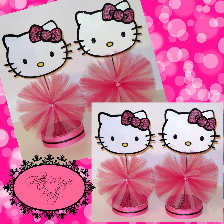Pink Kitty Dallas Set of 4 Hello Kitty Pink