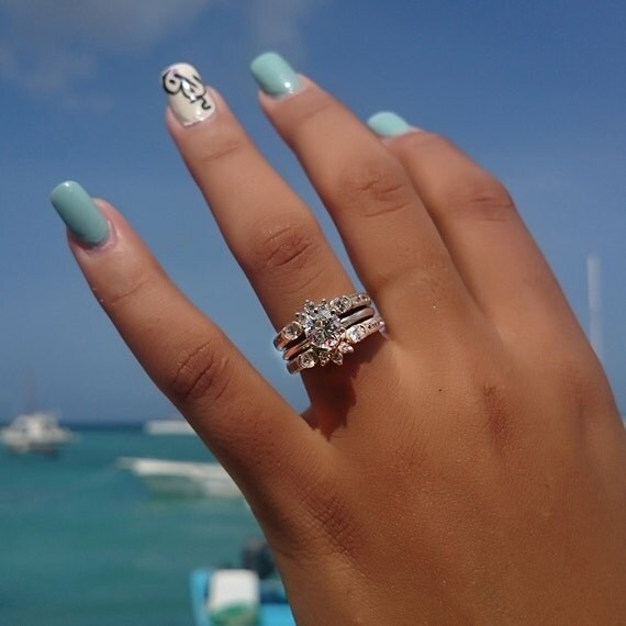 Most popular wedding rings Wedding ring enhancer guard