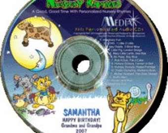 Personalized Nursery Rhymes CD