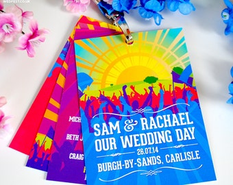 Wedding Festival VIP Lanyards (samples)