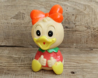 vintage rubber toy Disney  ... vintage USSR ... Ponca ... Soviet Union ... childhood ... DuckTales