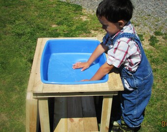 Water table, Sand Table, Kids Table, Outdoor furniture, Art Desk, Art Table, Kids furniture, Kids desk, Toddler table, school desk