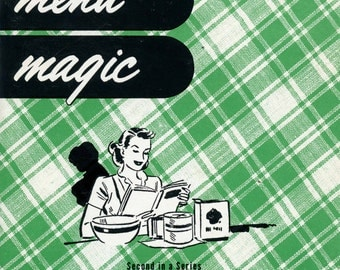 "1960 Arizona Public Service Cookbook - ""Modern Menu Magic"""