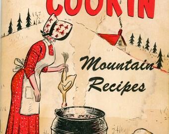 "1969 Cookbook ""Ma's Cookin', Mountain Recipes"""