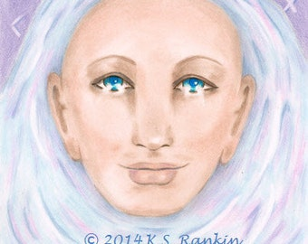 "Celtic Healer beautiful 8X10"" Giclee print"