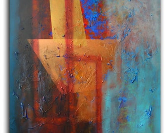 Abstract painting . Abstract contemporary ART. Original abstract painting. Free Worldwide Shipping .