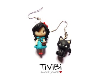 Kiki's delivery service earrings
