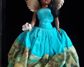 1950s Plastic Nassau Doll