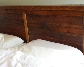 fairview reclaimed wood headboard