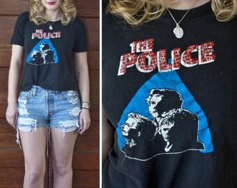 Rare 1980 The Police Zenyatta Mondatta Tour Tee