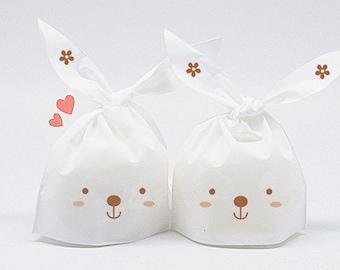 Bunny/Rabbit Gift Bags in set of 10