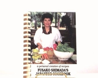 Fusako Shimada's Japanese Cookbook, authentic Japanese cooking,