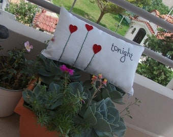 Tonight / Not tonight decorative cushion / pillow