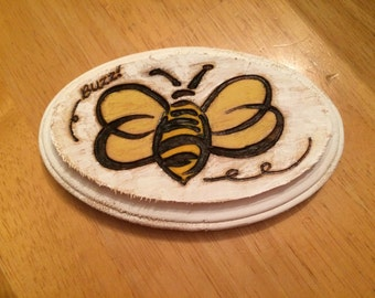 Buzzy Bee Bumblebee! Plaque, Very Cute for Boy or Girl