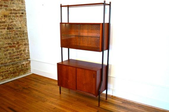 Lyby Mobler Danish Modern Shelf Unit by GalaxieModern on Etsy