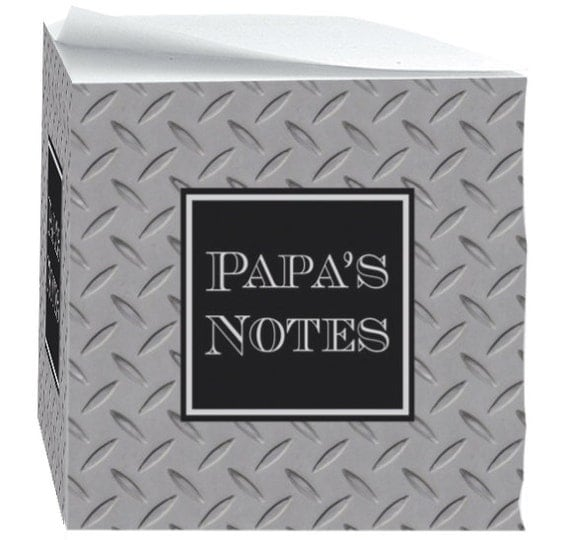 Christmas Gifts for Grandpa For Grandfather Note Cubes with Sticky Adhesive 700 Sheets Personalized For Dad Desk Accessories Note Pad