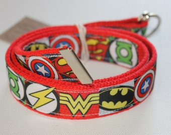 Children's Adjustable Superhero Belt- D-Ring