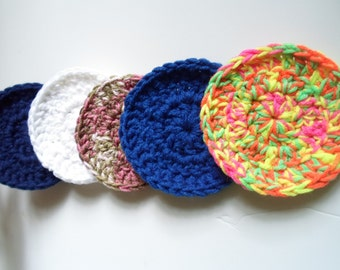 Crochet sponges, crochet pot wash, Eponge, Dish cloth, yarn products, modern home decor
