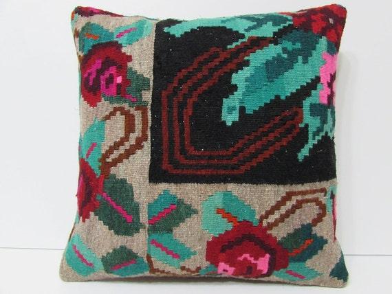 Floral Pillow 20x20 Pillow Case 20x20 20 By
