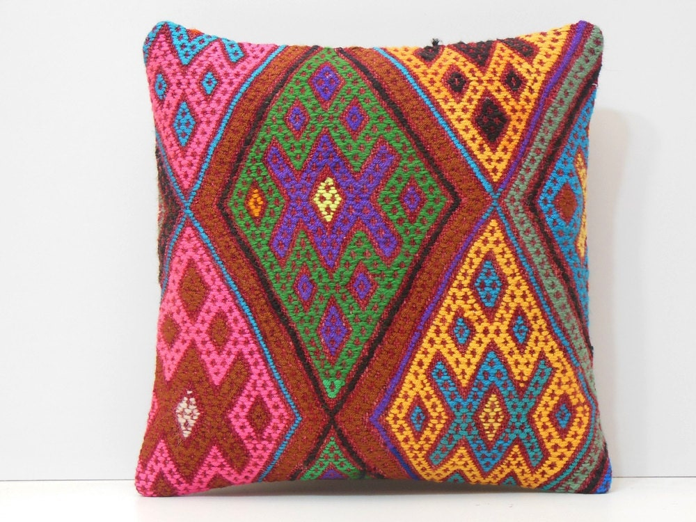 Gold Floor Pillows : pink floor pillow large sofa pillow green kilim pillow gold