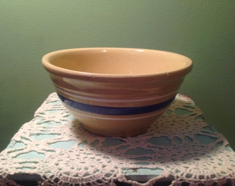 Antique Watt OvenWare USA Crock Bowl