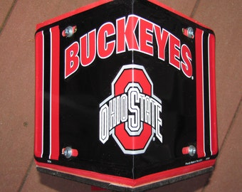 Ohio State Buckeyes Birdhouse - License Plate Collegiate Birdhouse - Bird House - OSU