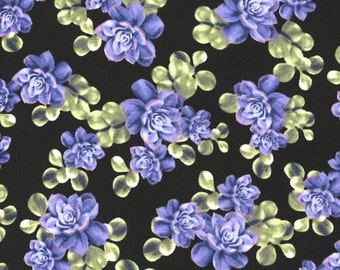 Hydrangeas & Purple Blooms Cotton Fabrics by Timeless Treasures! [Choose Your Cut Size]