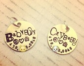 Pet Name ID Tag For Collar