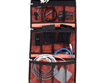 "Electronics Case 12"" | Travel Bag, Travel Pouch, Technology Case, Tablet Case, iPad Mini Case, Travel Case, Makeup Bag, First Aid Bag"